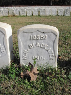 Pvt William H. Blackater