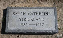 Sarah Catherine Norris Strickland 1882 1957 Find A Grave Memorial