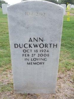 Ann Duckworth