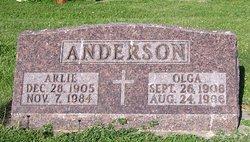 Olga Louise <I>Tufte</I> Anderson