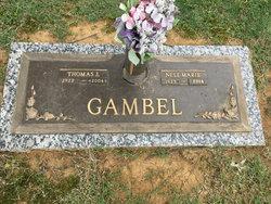Nell Marie <I>Davis</I> Gambel