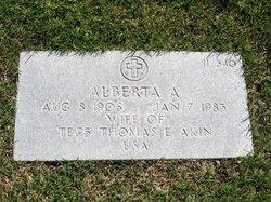 Alberta A Akin