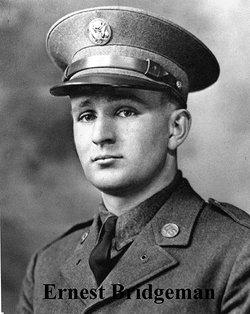 Sgt Ernest H Bridgman