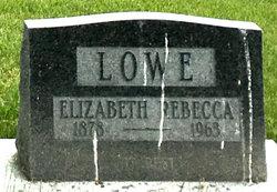 Elizabeth Rebecca Lowe