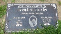 Duyen Thi Thai