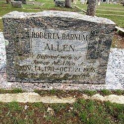 Roberta Pearl <I>Barnum</I> Allen