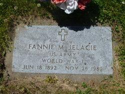 Fannie M. <I>Larson</I> Jelacie
