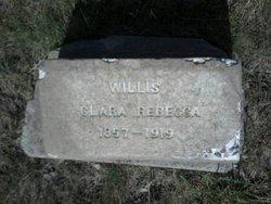 Clara Rebecca <I>Sanford</I> Willis