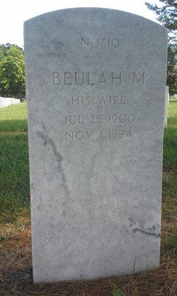 Beulah M Smith