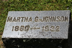 Martha G Johnson