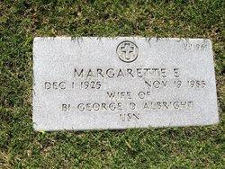 Margarette E Albright