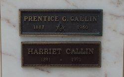 Prentice George Callin