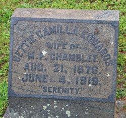Bettie Camilla <I>Edwards</I> Chamblee