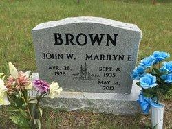 MARILYN E BROWN