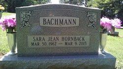 Sara J. <I>Hornback</I> Bachmann