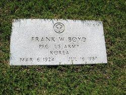 Frank W. Boyd