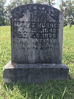 Mary E. <I>Copeland</I> Hughes