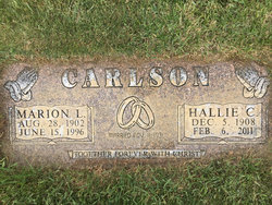 Hallie Carmen <I>Sterner</I> Carlson