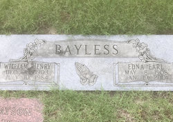 Edna Earl <I>Johnston</I> Bayless
