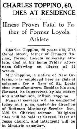 Charles Gustave Toppino, Jr