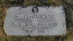 Harry D Boltz