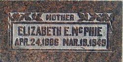 Elizabeth Ellen <I>White</I> Mcphie