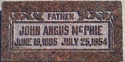 John Angus Mcphie