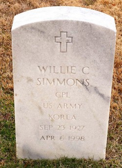 Willie C Simmons