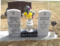 """CPO Andrew M. """"Doc"""" Matthews"""