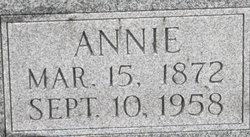 Annie <I>Kemner</I> Zehner
