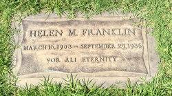 Helen Maurice <I>Stewart</I> Franklin