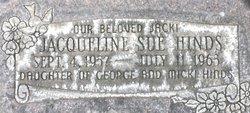 """Jacqueline Sue """"Jacki"""" Hinds"""