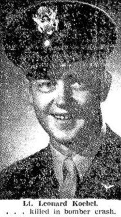 2LT Leonard L Koebel