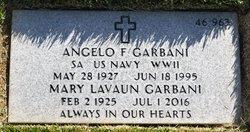 Angelo F Garbani