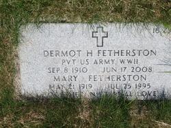 Mary E. <I>Brawley</I> Fetherston