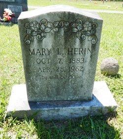 Mary Lucy <I>Carreker</I> Herin