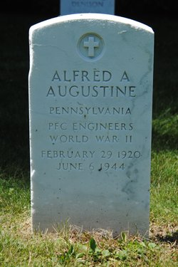 PFC Alfred A. Augustine