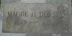 Maude H. Dorsey