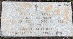 Greta Mildred <I>Fowlie</I> Finke