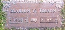 Marion Tolson