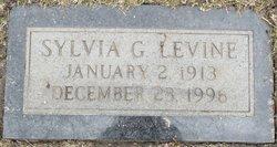 Sylvia G <I>Gottlieb</I> Levine
