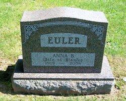 Anna W <I>Bateman</I> Euler
