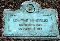 Edythe May <I>Lehman</I> Stiles
