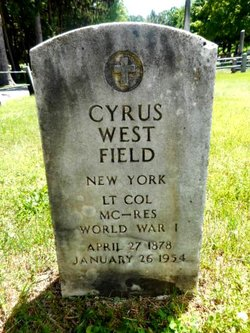 Dr Cyrus West Field, II