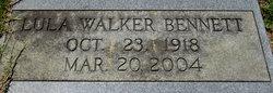 Lula <I>Walker</I> Bennett