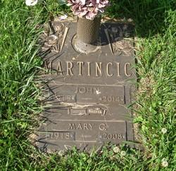 Mary <I>Gretsky</I> Martincic