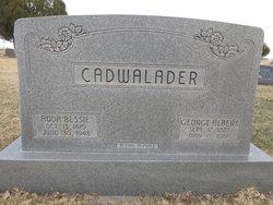 Addie Bessie <I>Gantz</I> Cadwalader