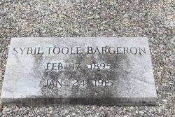 Florence Sybil <I>Toole</I> Bargeron