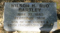 "Wilson Harrison ""Bud"" Bartley"