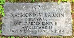 Pvt Raymond V Larkin